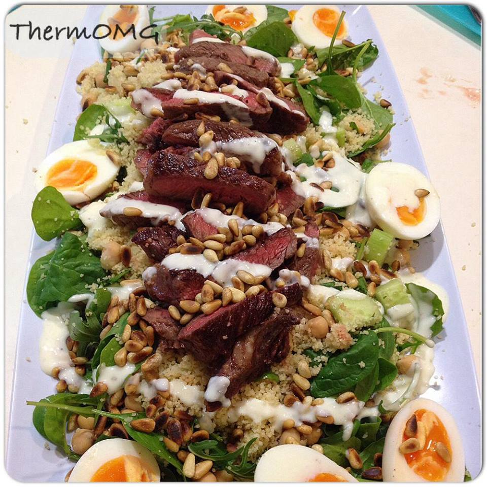 Beef Cous Cous Salad