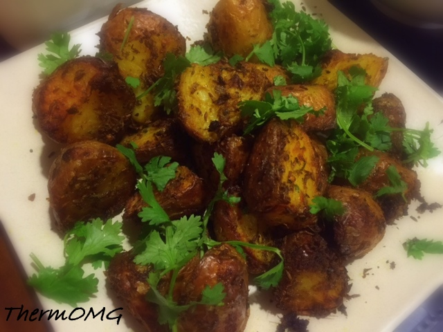 Crunchy Spiced Potatoes