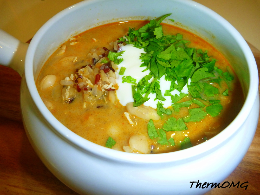 Korma Butter Bean Soup