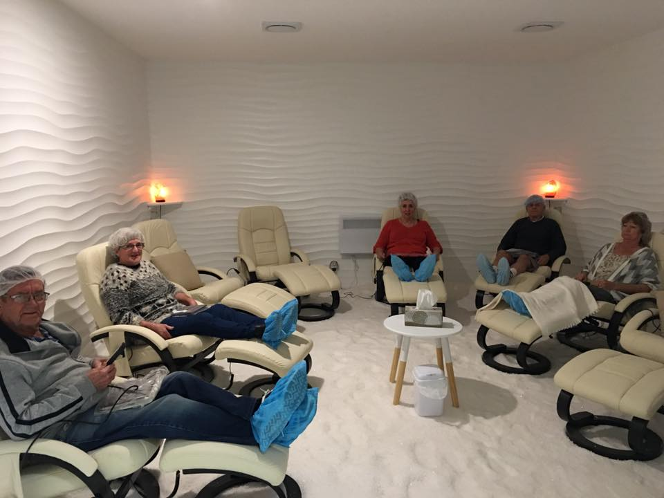 Adults Room - with 10 massage chairs