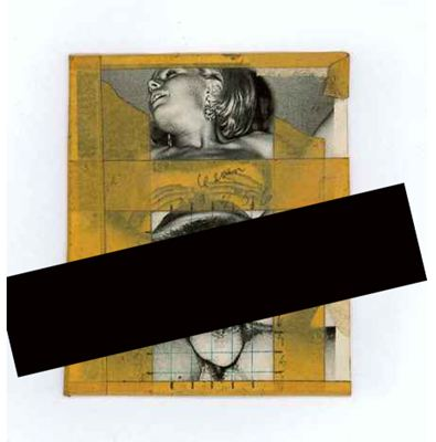Betty Tompkins, Fuck Photo #5, 1972, collage, 4x5 in.