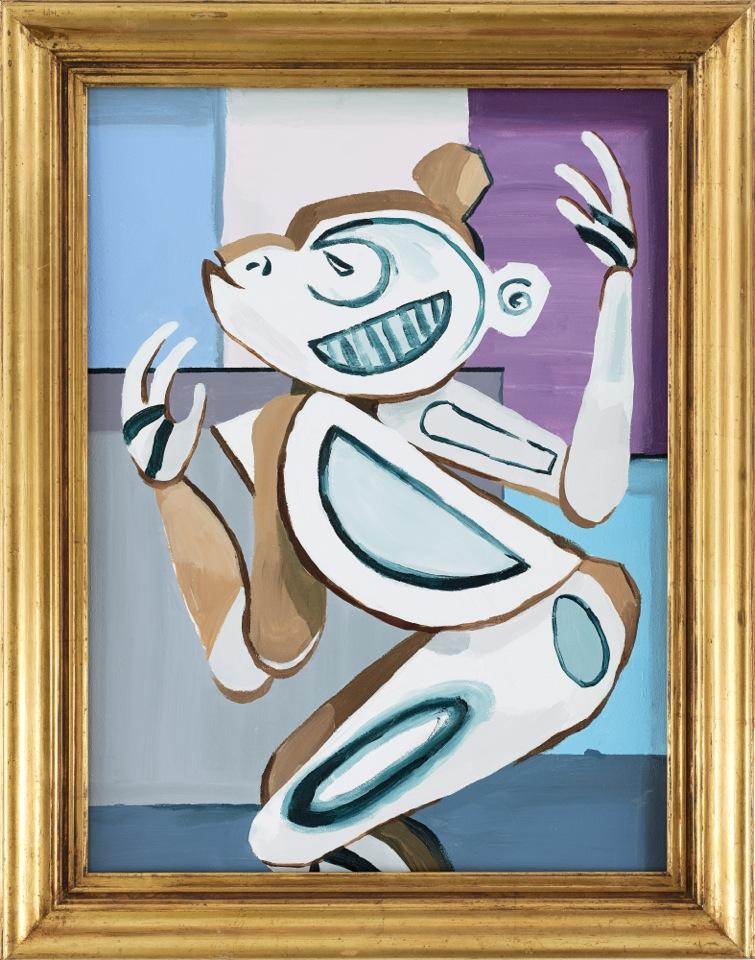 1911 Cubist Monkey