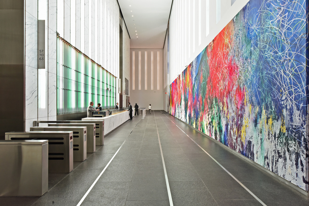 Unity in Abstraction, One World Trade Center  Permanent Installation (Catalog available)