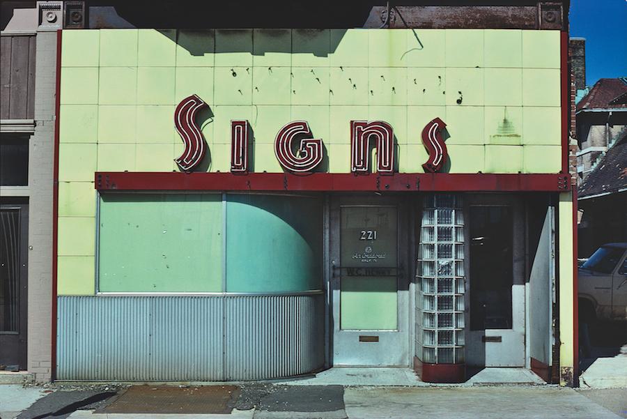 John Margolies, SIgns Store.jpg