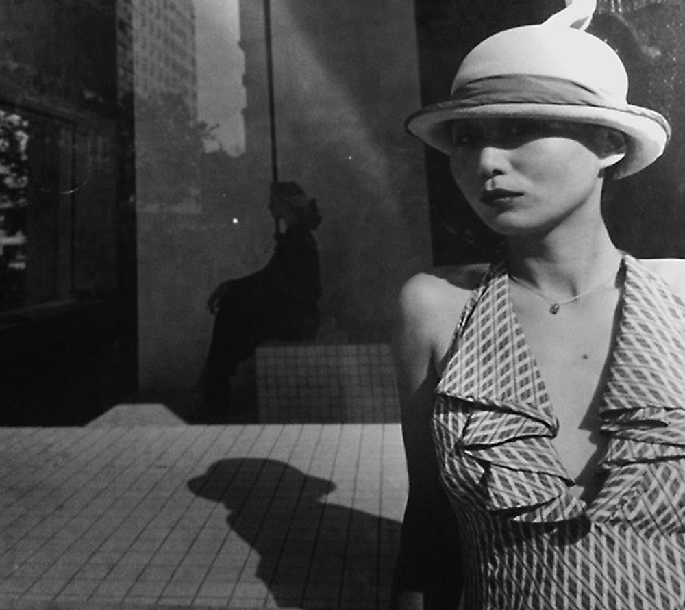 Rose Hartman - Young Woman in front of Halston's Window.jpeg