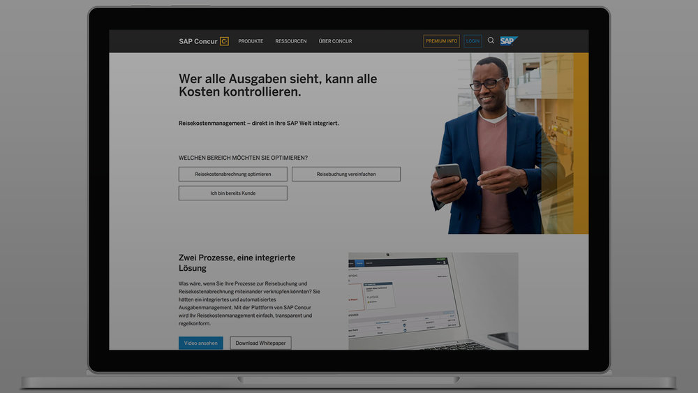 SAP/CONCUR - Global Marketing Web Framework