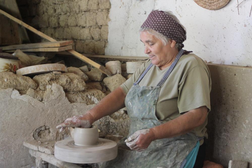 White Pottery Romania
