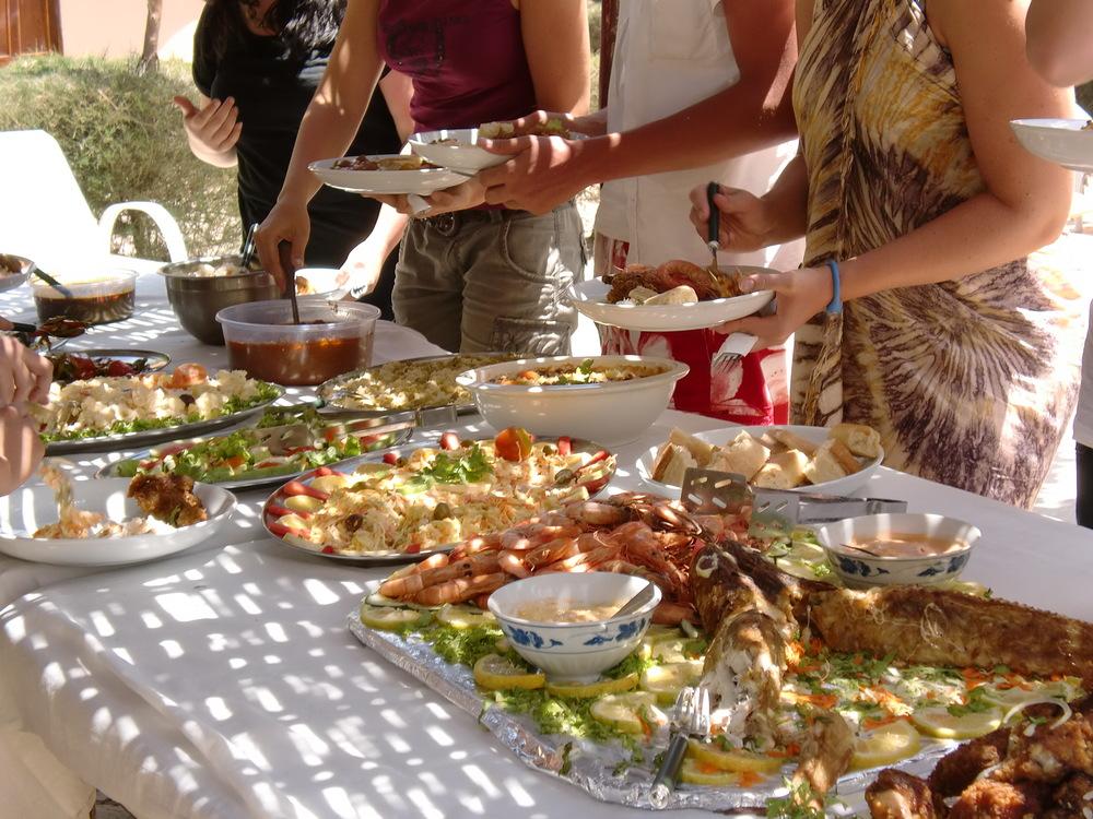 Food at Footsteps Gambia