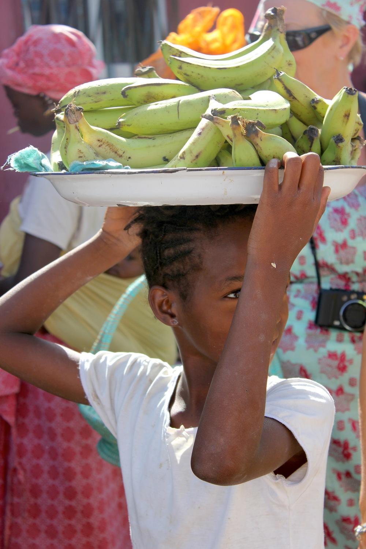 Tanje Market in Gambia