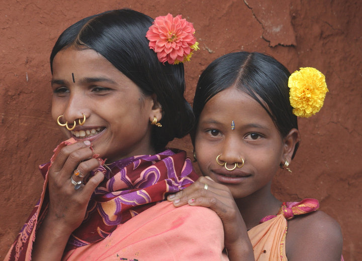 Rural Orissa India