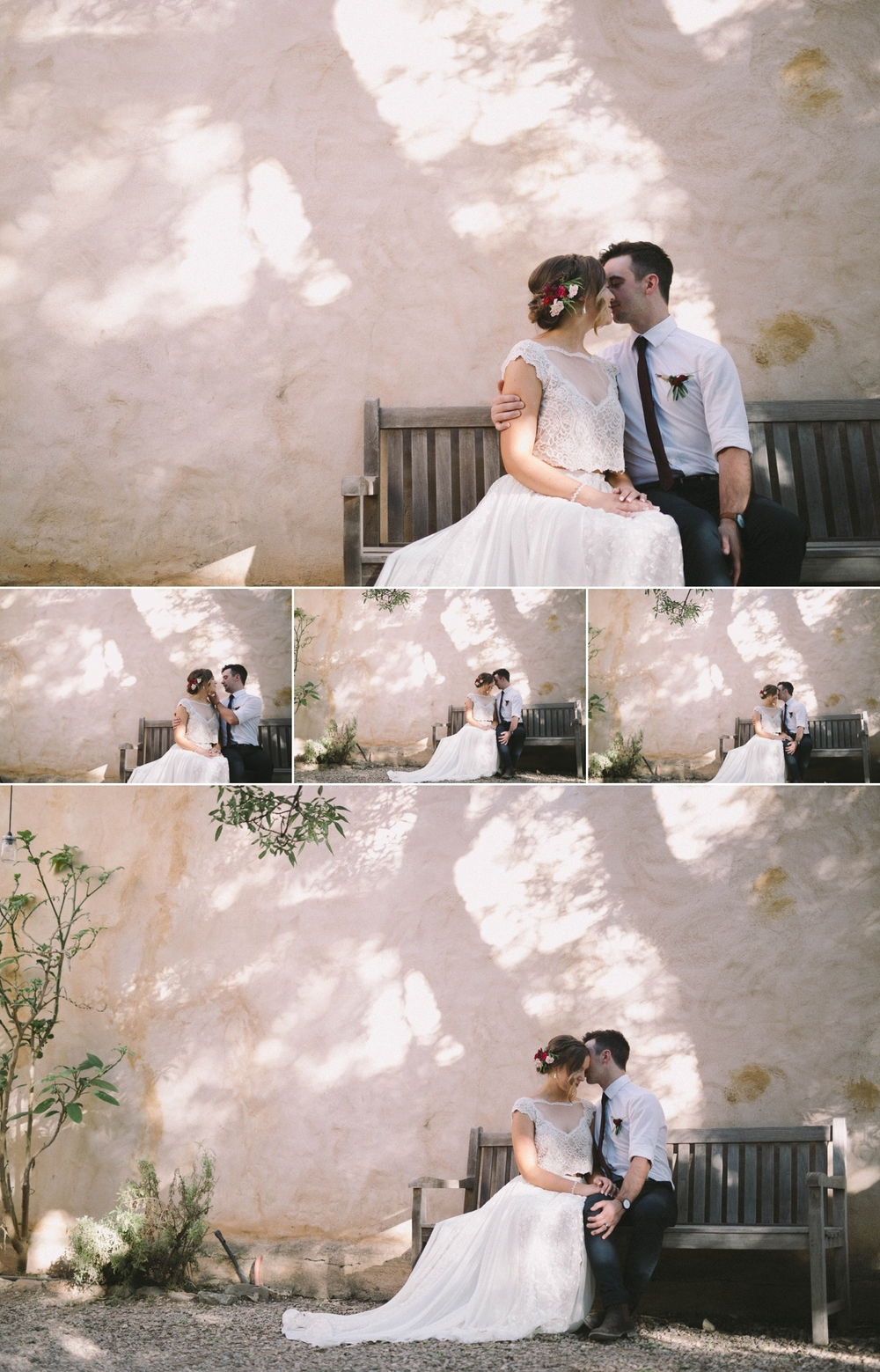 Tessa & Josh - Al Ru Farm Wedding - Adelaide Wedding Photographer - www.katherineschultzphotography.com