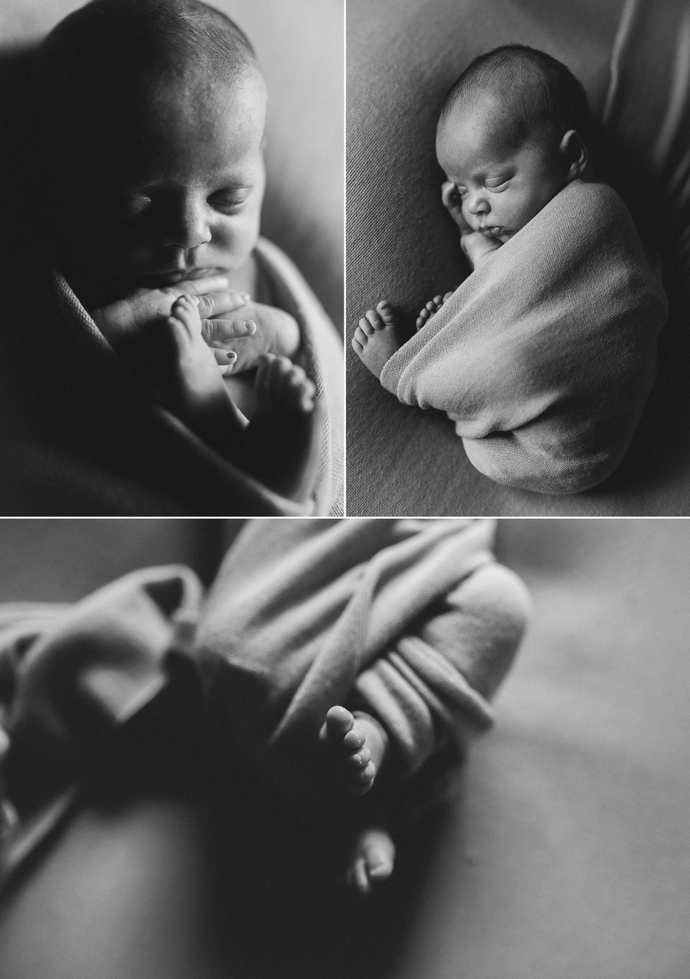 Isaac and Henry - Identical Twin Photography - Natural light twin newborn photographer in Adelaide - www.katherineschultzphotography.com 2