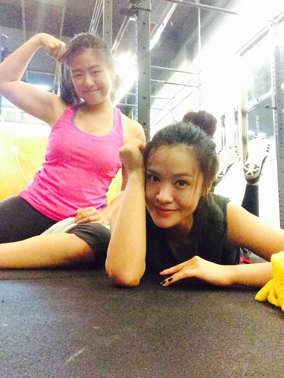 (Left) Michelle Teh. (Right) Emily Lim