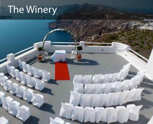 caldera view - Ceremonies. Receptions.