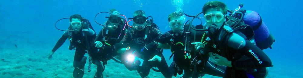 santorini diving experience