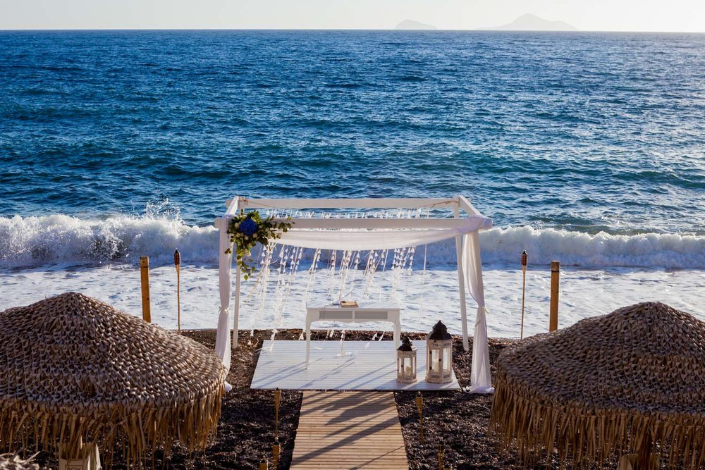 remote beach ceremonies and receptions