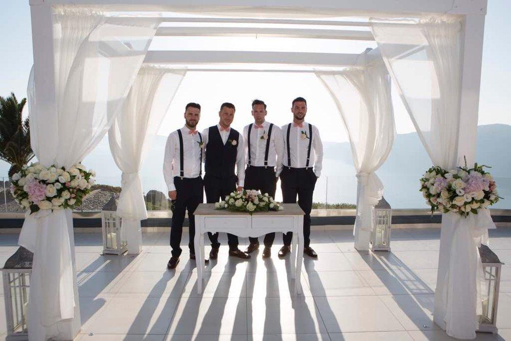Caldera View - Ceremonies. Receptions