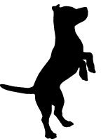 dog silhouette standing facing right.jpg