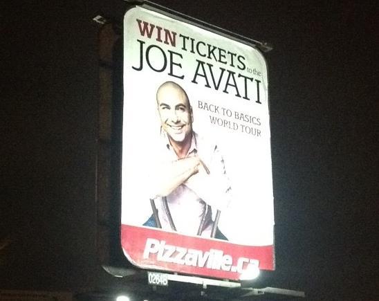 Pizzaville Billboard, Toronto