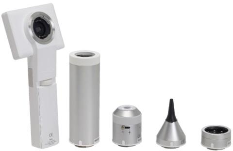 Cámara Multifuncional (otoscopio, dermatoscopio, retinoscopio, general, ENDOSCOPIO)