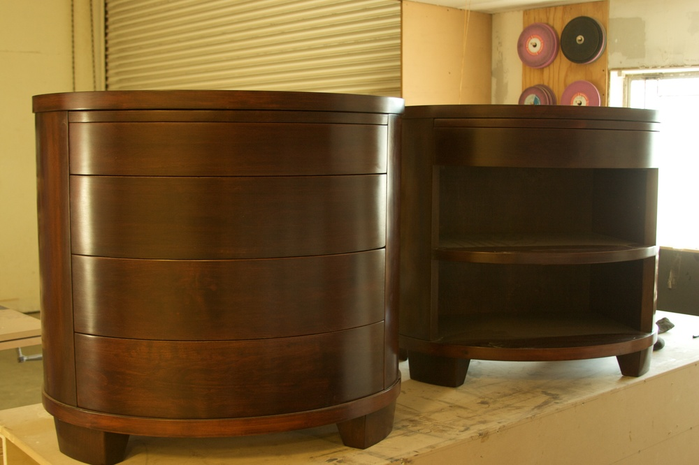 Elliptical Cabinets