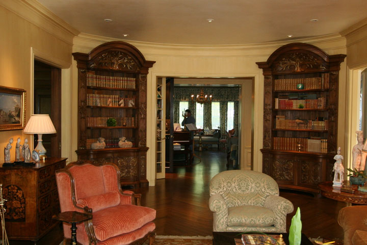 Beaux-Arts Bookcases