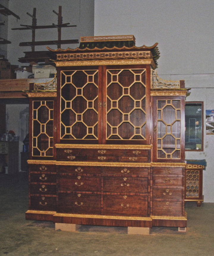 Mahogany Chippendale.