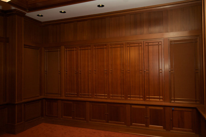 Interior fold-out paneling.