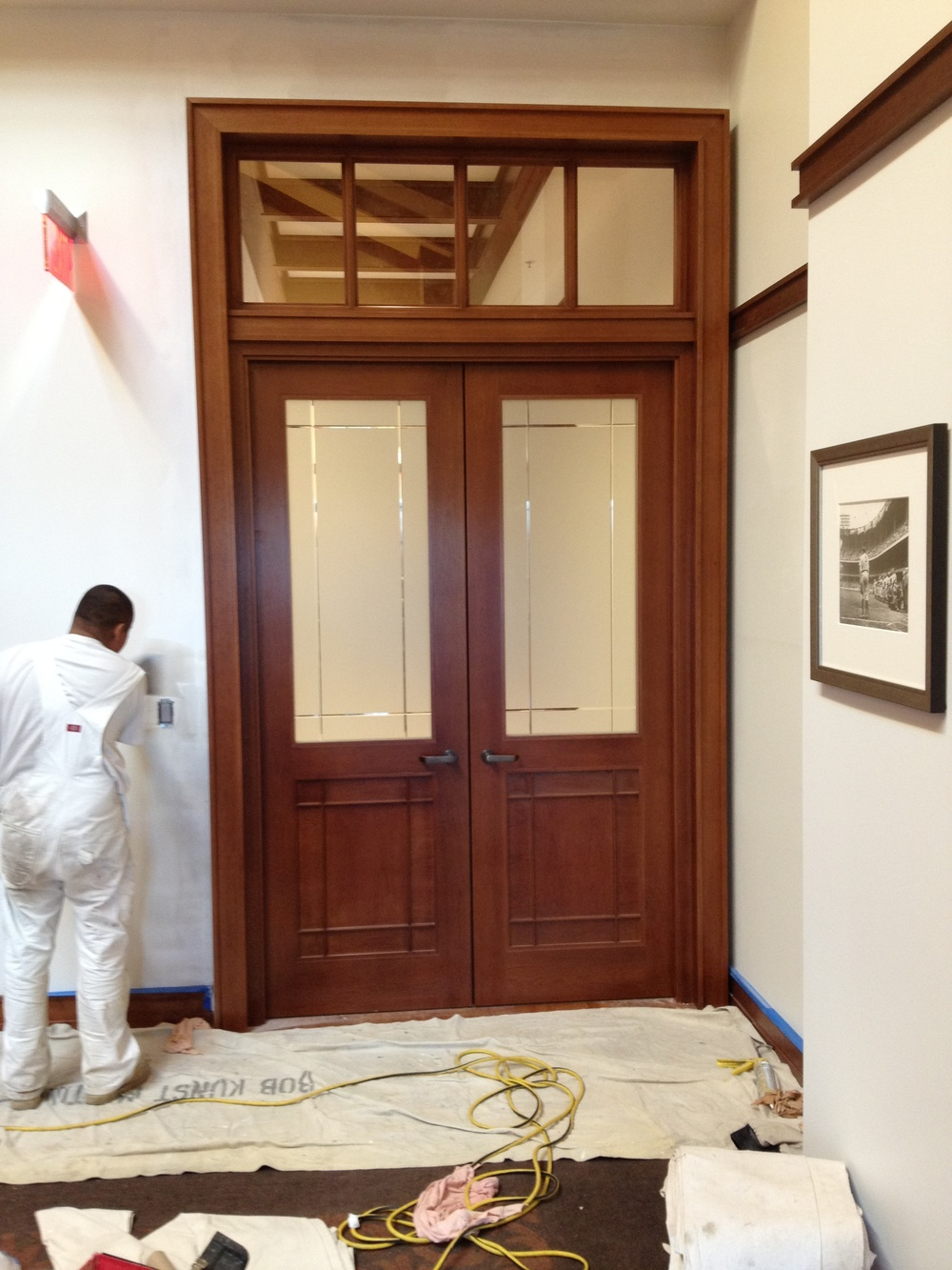 Cherry Conference Room Doors