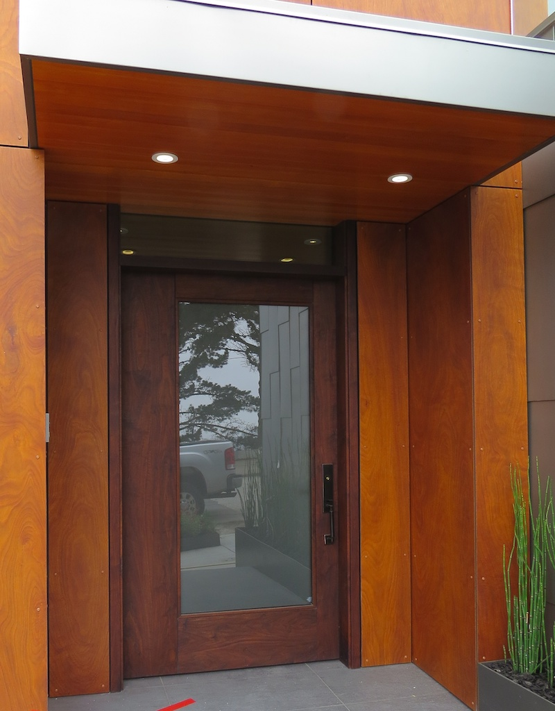 Walnut Entry Door