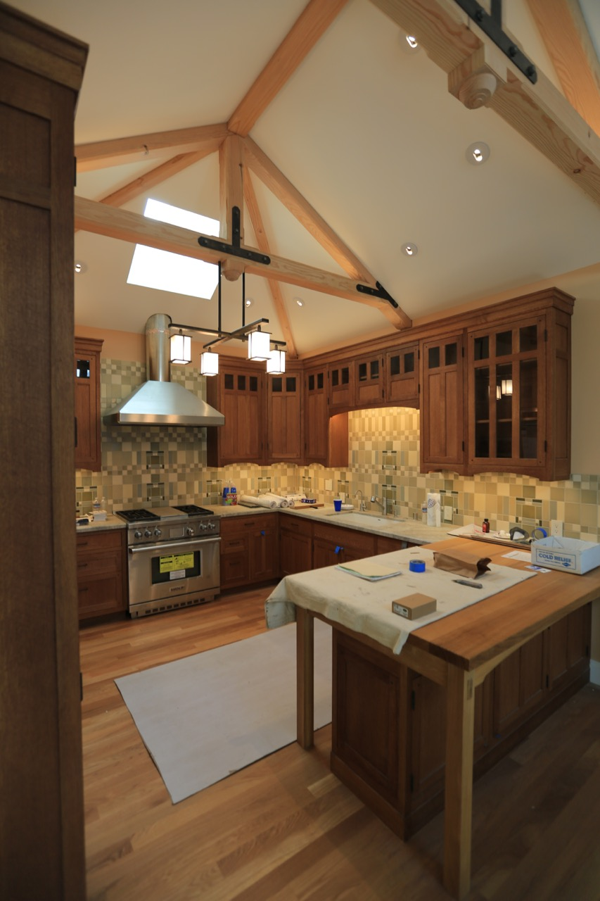 Incroyable Oak Cabinets With Rubio Monocoat Finish.