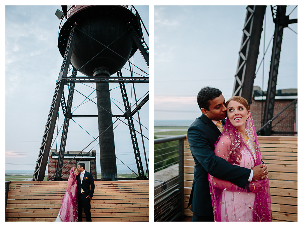 Cleveland Arial International Center Wedding