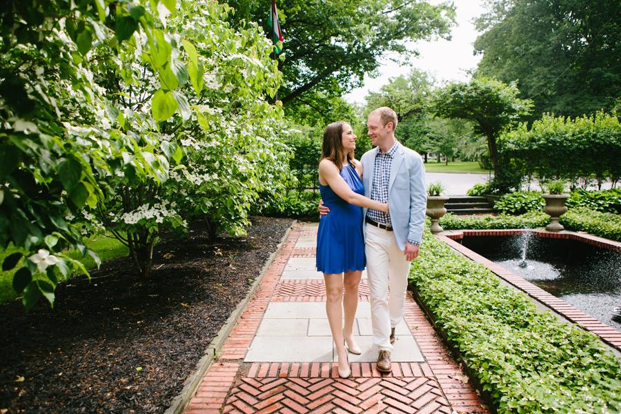 Hallie+Ethan\'s Cleveland Cultural Garden Engagement — BRITTANY GRAHAM