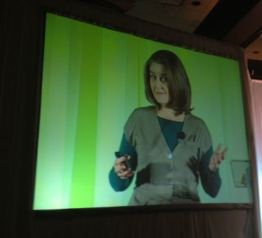 Kate Hammer speaking at Shoppers Insights 2012