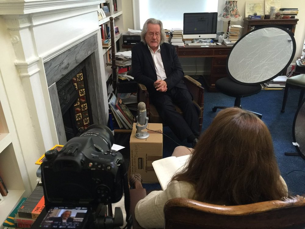 Philosopher AC Grayling in conversation with Kate Hammer.