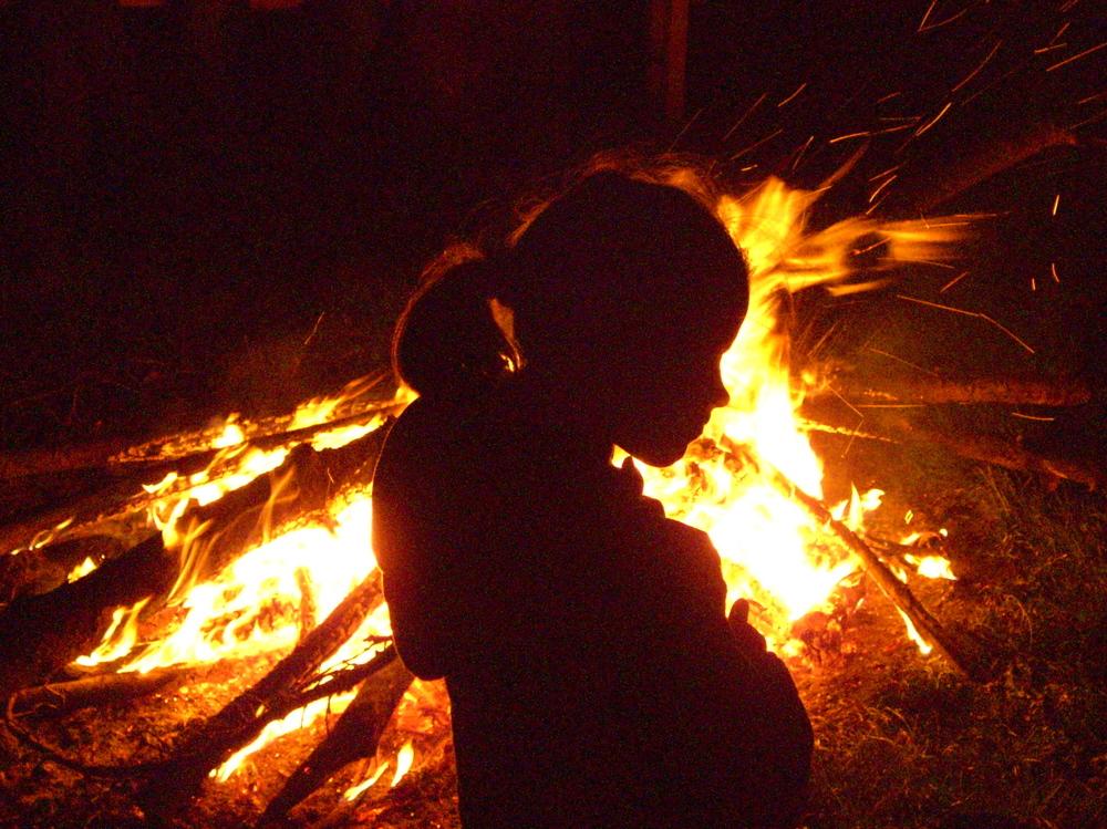 Campfire Child by Rudi Schlattevia Flickr