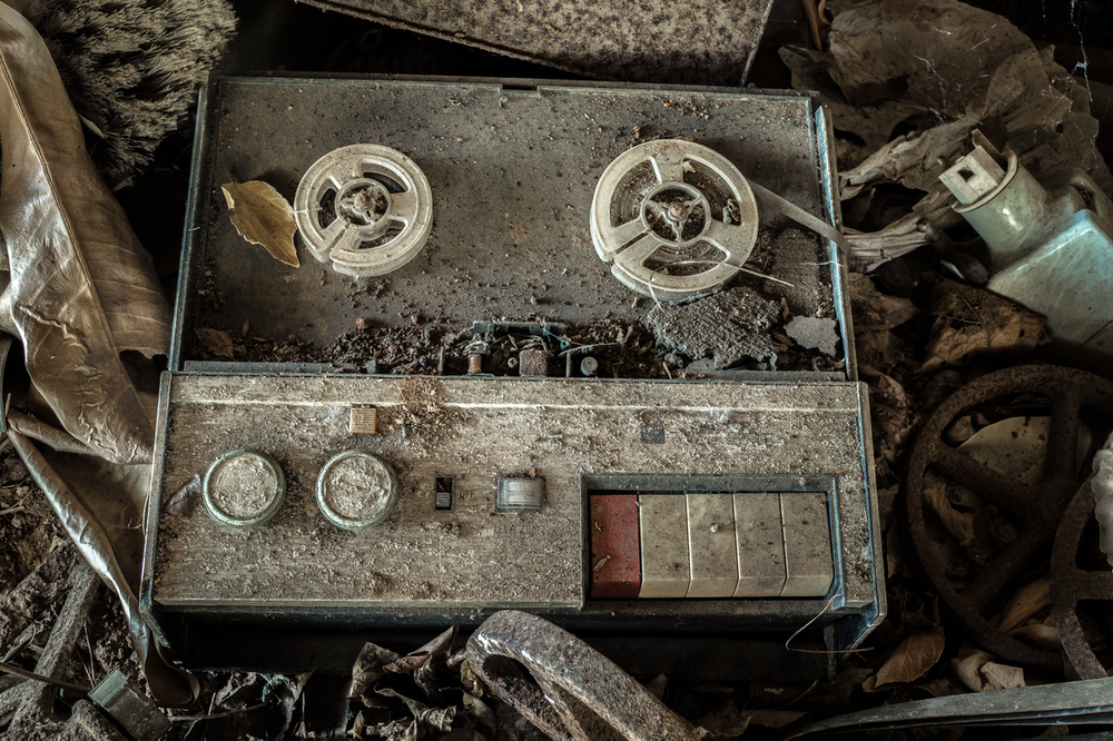 Reel to Reel by darkday via Flickr
