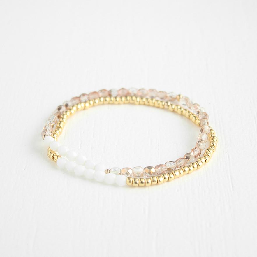 Junghwa Stacking Bracelets