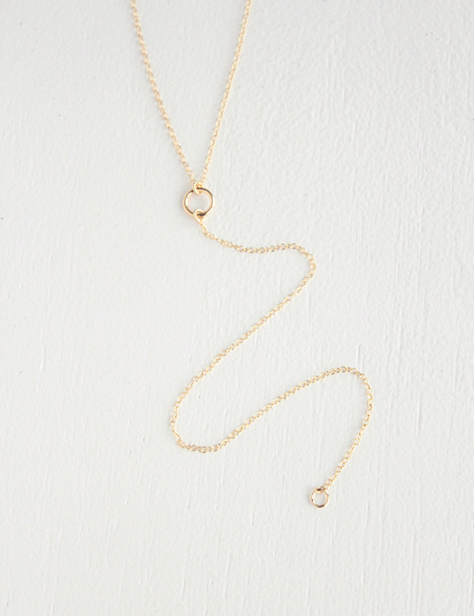 Junghwa Halston Lariat Necklace