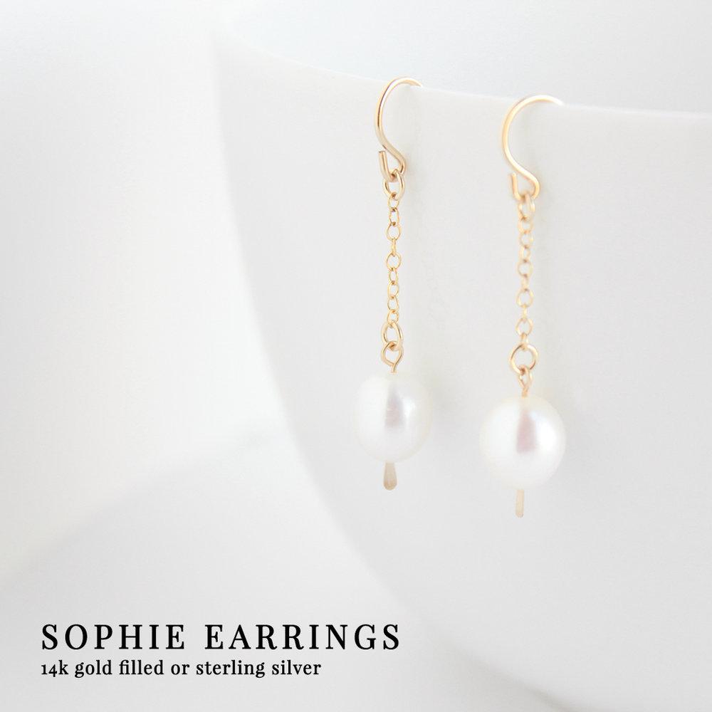 Junghwa Sophie Earrings