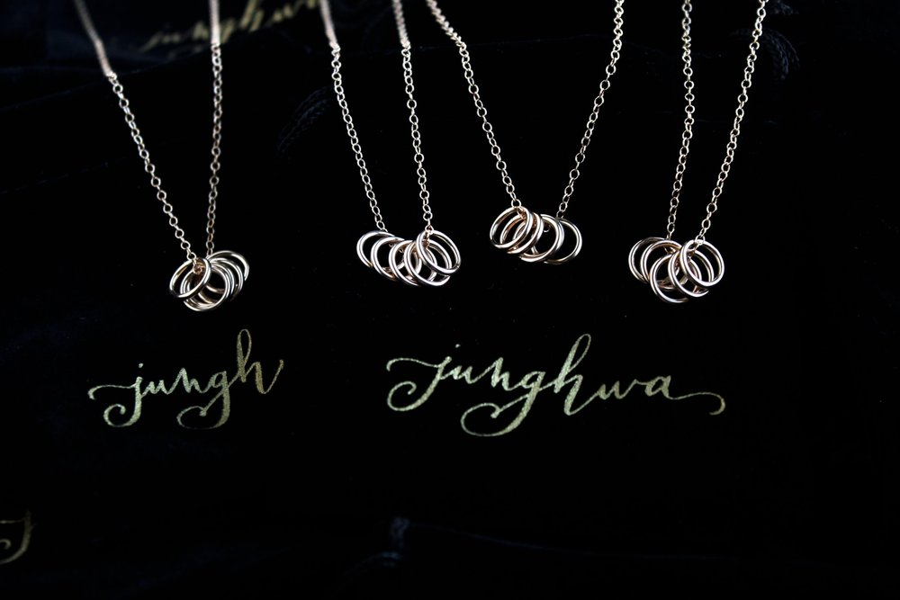 Junghwa by Amy Stewart - Rings Necklace