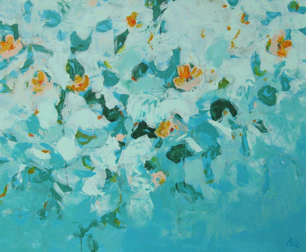 Lush Life - acrylic on canvas 24x30