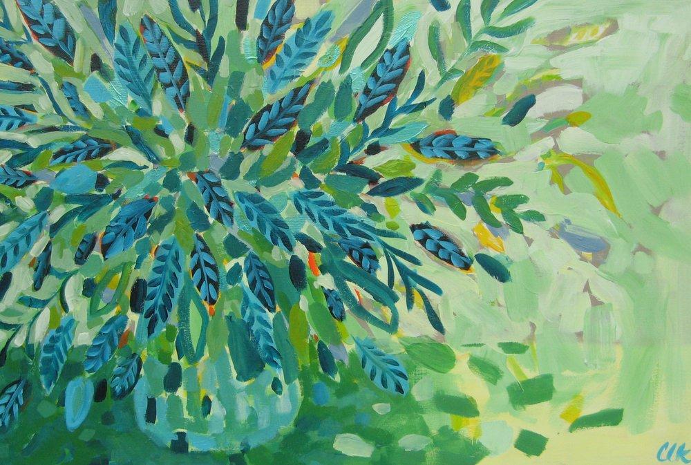 Abundance - acrylic on canvas 24x36