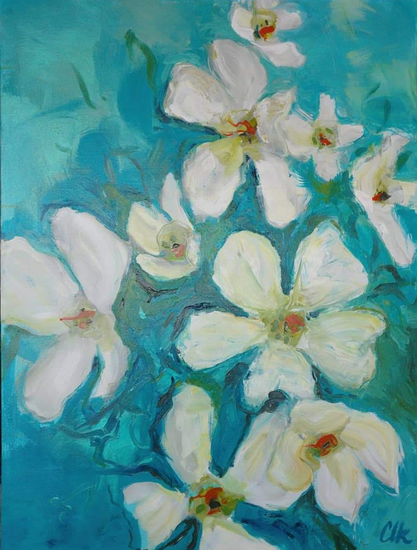 Azure Sky - SOLDacrylic on canvas 40x30