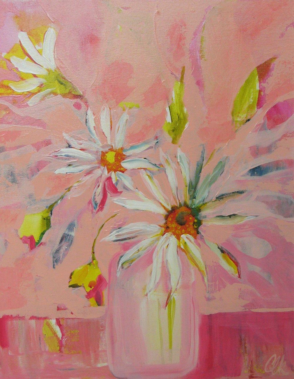 Spring Dream - acrylic on canvas 20x16