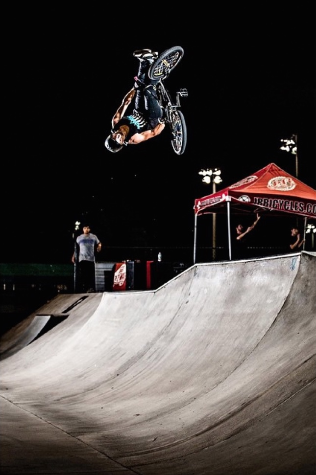 Jack Straiton Flair Whip. Photo by : Josh McElwee