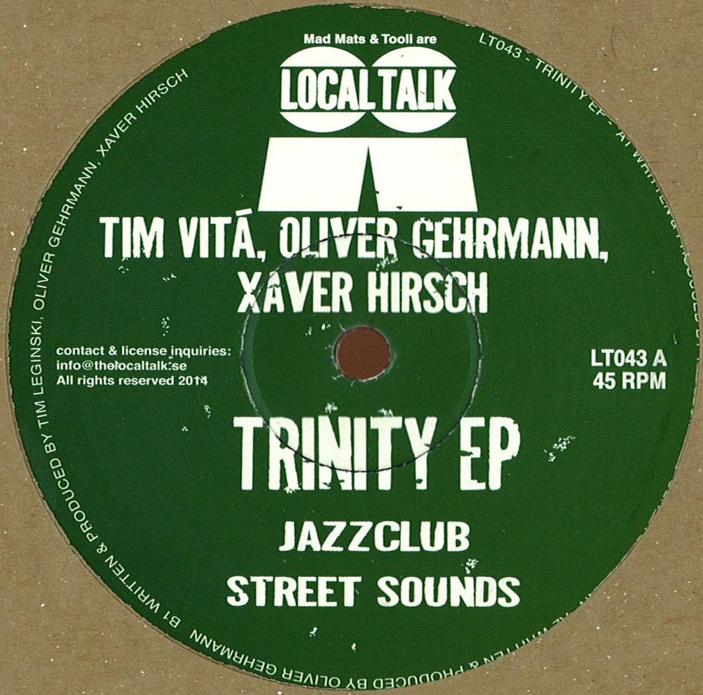 Tim Vitá, Oliver Gehrmann, Xaver Hirsch   - Trinity EP [LT043]