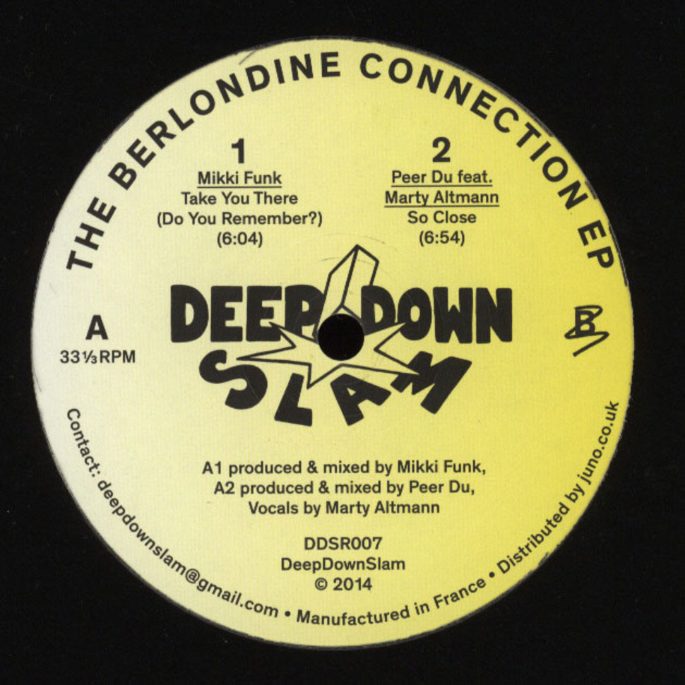 Mikki Funk & Peer Du - The Berlondine Connection [DDSR007]