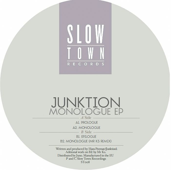Junktion - Monologue EP [STOWN08]