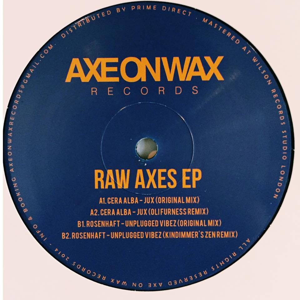 Various - Raw Axes EP [A.O.W 004]